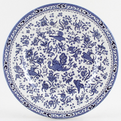 Burleigh Blue Bird Dinner Plate