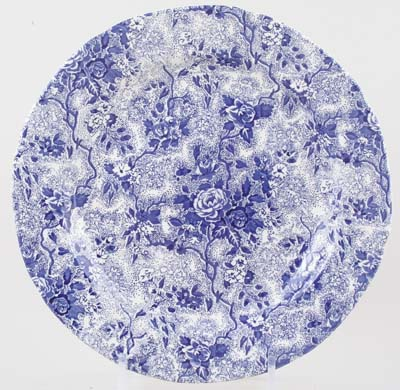 Burleigh Lottie Chintz Dinner Plate