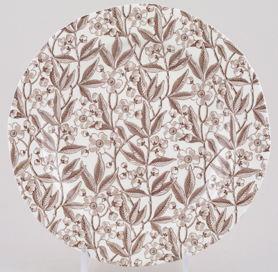 Burleigh Prunus brown Dinner Plate