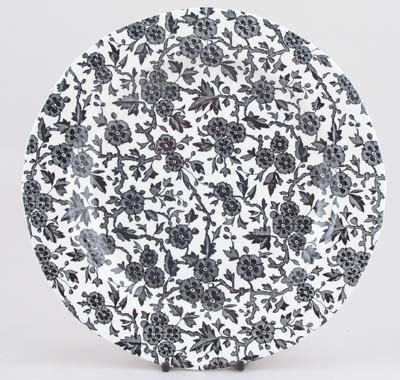Burleigh Arden black Dinner Plate