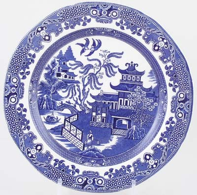 Burleigh Willow Dinner Plate