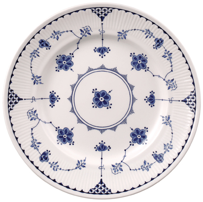 Johnson Bros Blue Denmark Dinner Plate