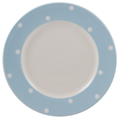 Spode Baking Days blue pale Dinner Plate