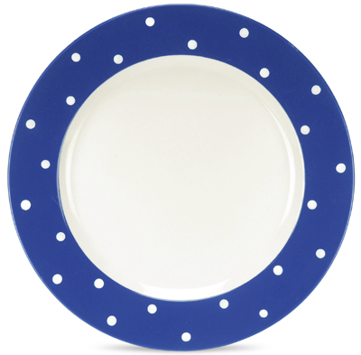 Spode Baking Days blue dark Dinner Plate