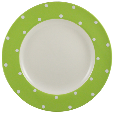 Spode Baking Days green Dinner Plate