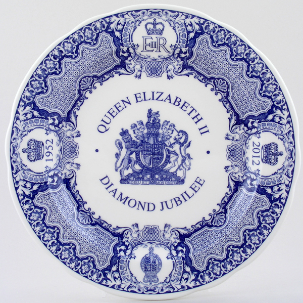 Spode Diamond Jubilee Dinner Plate