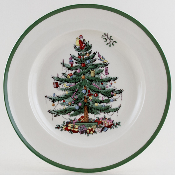 Spode Christmas Tree colour Dinner Plate