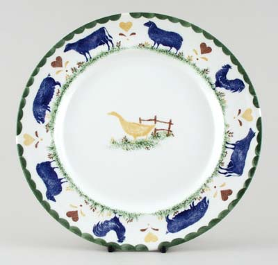 Woods Jacks Farm colour Dinner Plate