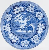 Pountney Camel Plate c1825