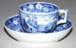 Toy Cup and Saucer c1825