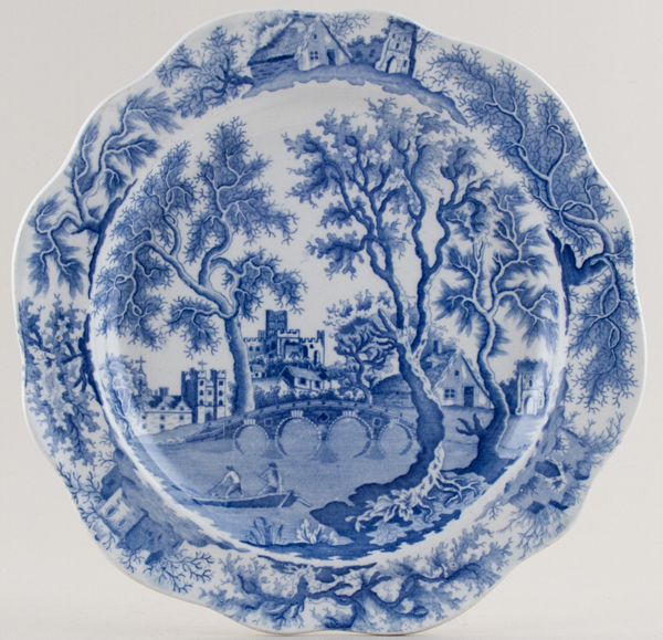 Henshall Castle and Bridge Plate c1825