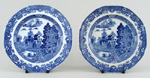 Side or Cheese Plates Pair c1815