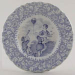 Toy Plate c1842