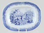 Toy Meat Dish or Platter c1868