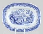Toy Meat Dish or Platter c1869