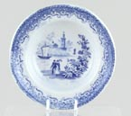 Toy Soup Plate c1870
