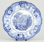 Lunch Plate Simplon c1835