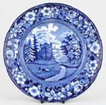 Dinner Plate Faulkbourn Hall c1825