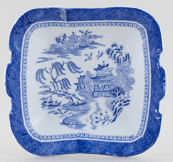 Spode Mandarin Toy Bread and Butter Plate c1890