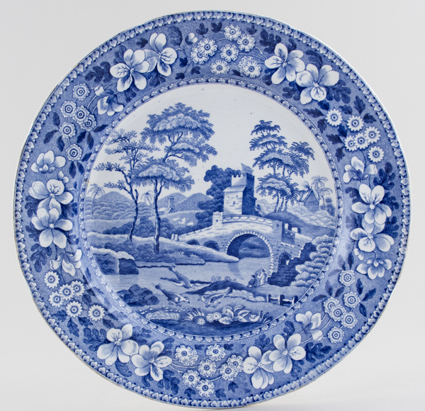 Spode Tower Plate c1833