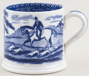 Unattributed Maker Unidentified Pattern Mug small c1880