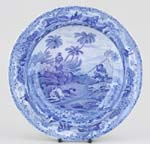 Soup Plate Chase After a Wolf c1820