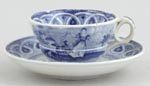 Toy Cup and Saucer c1850