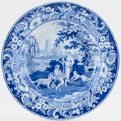 Soup Plate small c1820