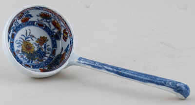 Unattributed Maker Unidentified Pattern colour Sauce Ladle c1825