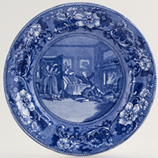 Plate Mistakes Gentlemans House for Inn c1900