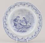 Toy Soup Plate c1845
