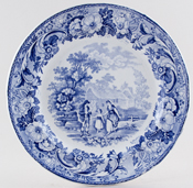 Plate The Reaper c1820