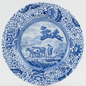 Plate The Drover c1820