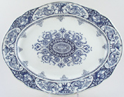 Meat Dish or Platter c1886