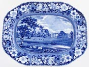 Meat Dish or Platter Oatlands Surrey c1825