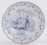Toy Plate c1845