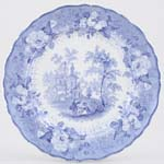 Plate The Messenger c1830