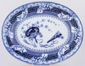 Meat Dish or Platter c1877