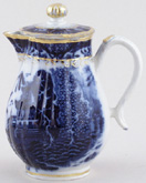 Creamer or Jug with Cover c1810