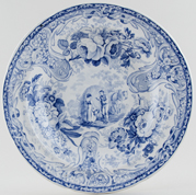 Soup Plate Haymaking c1820