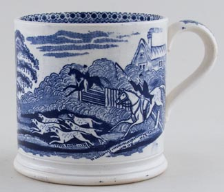 Unattributed Maker Unidentified Pattern Mug c1880