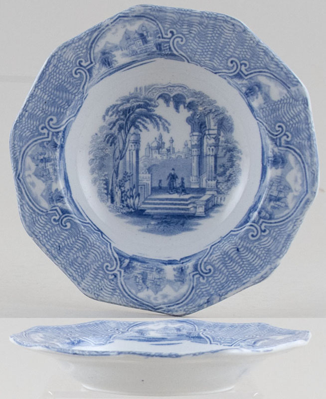 Unattributed Maker Unidentified Pattern Dish small c1840