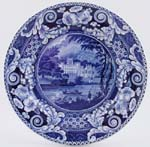 Plate Taymouth Castle c1825