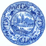 Dessert or Small Soup Plate c1825