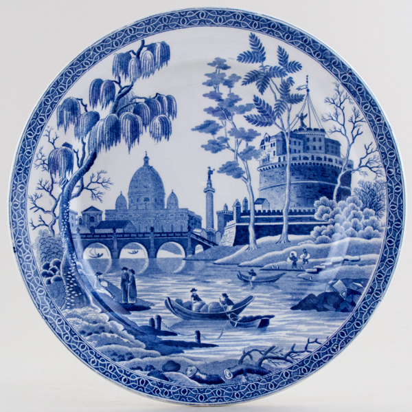 Spode Rome Plate c1815