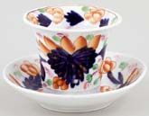 Cache Pot and Saucer small c1840