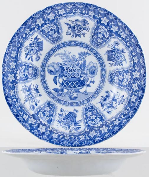 Spode Filigree Soup Plate c1830
