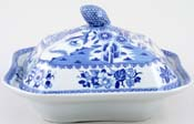 Covered Vegetable Dish c1825