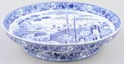 Wedgwood Blue Palisade Cheese Stand c1825