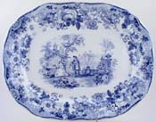 Meat Dish or Platter Bride of Lammermoor c1882